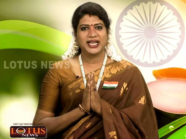 Meet India's first transgender newsreader Padmini Prakash