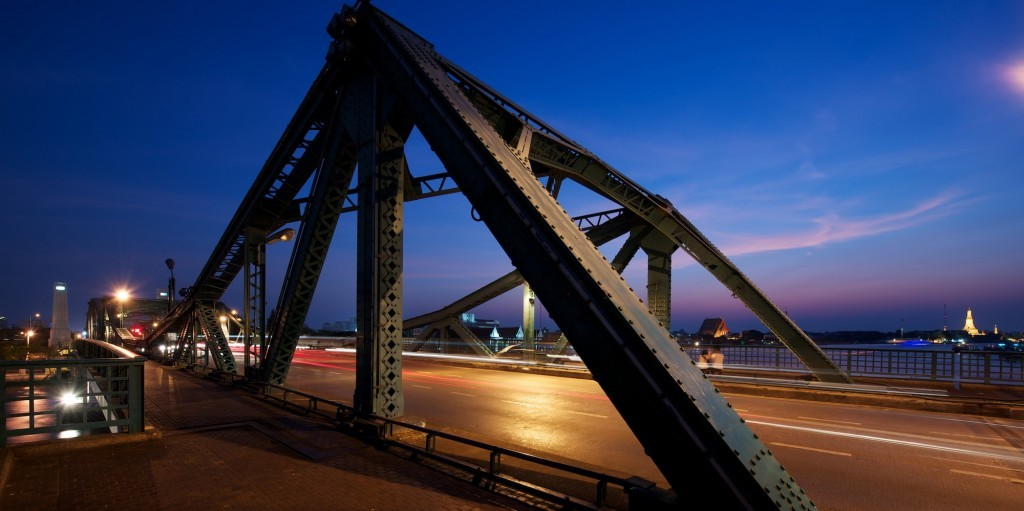 Memorial Bridge Bangkok Thailand David Bonnie Bangkok Thailand davidbonnie.com