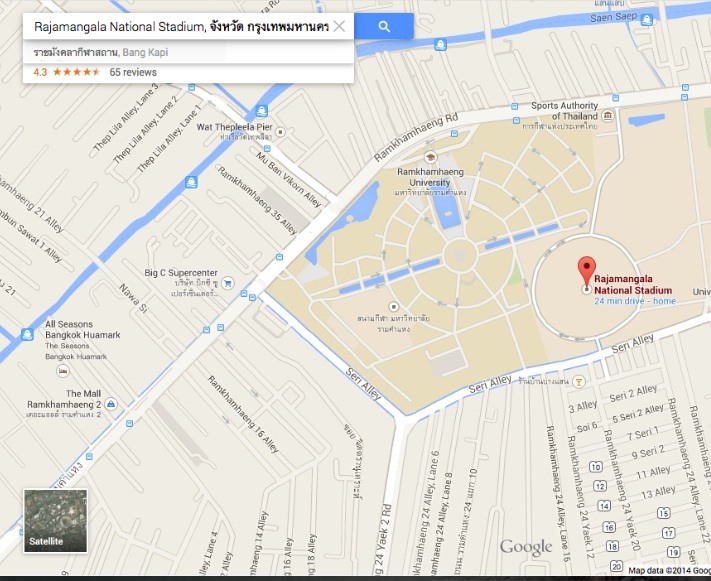 Rajamangala Travel Map David Bonnie Bangkok Thailand davidbonnie.com