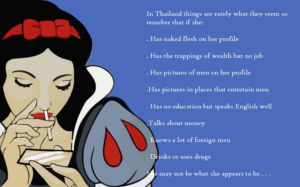 Snow White Snorting Cocaine David Bonnie Bangkok Thailand davidbonnie.com