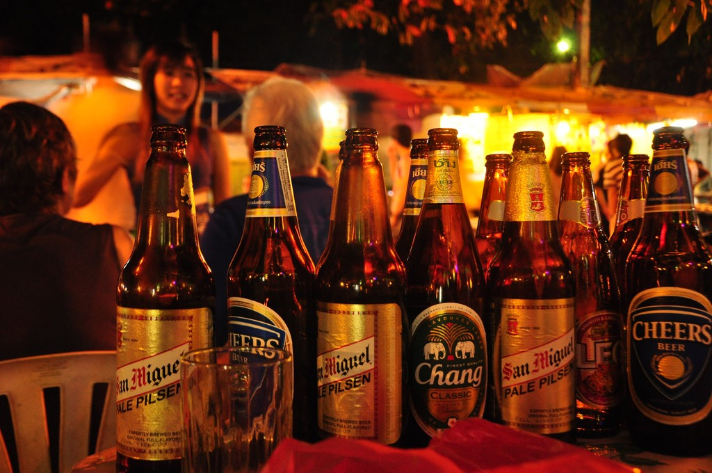 Beer is NOT cheap in Thailand.