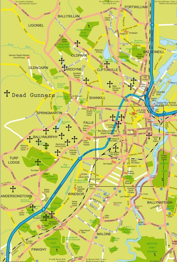 Dead Gunners Map
